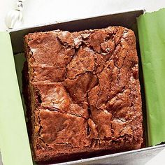 Tex-Mex Brownies | These are not your mama's brownies. The subtle heat from red pepper turns these delights into conversation starters. | SouthernLiving.com