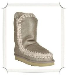 Metallic Mou boots www.stockholmmarket.com