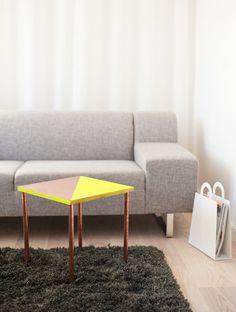 DIY copper tubing table by brittany watson jepsen