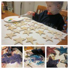 salt dough ornament recipe & crafts