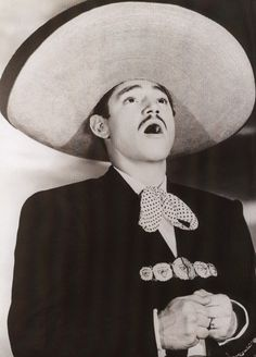Javier Solis (1931-1966), one of the four best mexican singers. He was also a film actor.
