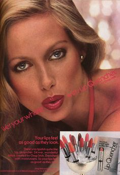 Lip Quencher ad  June 1978