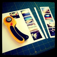 Easy print-your-own Instagram photostrips