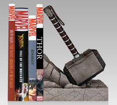 Thor Hammer Bookend — GeekTyrant