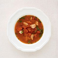 Simple, Healthy Soups: Tomato and Turkey