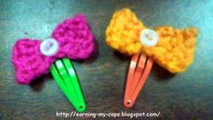 Earning My Cape: Buttons and Bows Hair Clips (5 minute craft)