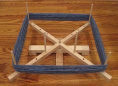 a yarn swift for only 20 bucks?!? count me in!  (Medium Hard Maple Yarn Swift Winder Adjustable Skeinwinder. via Etsy.)