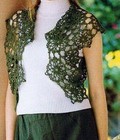 Crochet Sweater: Crochet Vest Pattern Free - Lace Vest For Ladies