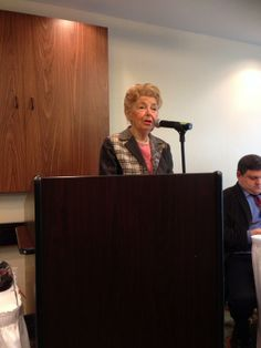 Phyllis Schlafly at Blogger Event, 3-08-14