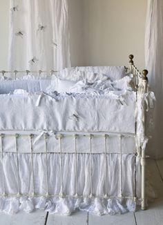 lovely crib bedding