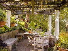Wonderful outdoor room by Paul Wiseman