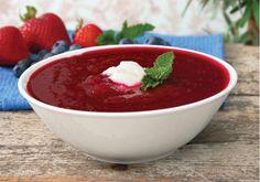 chill strawberri, summer soups, strawberri soup