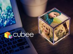 CUBEE...The illuminating photo cube that brings new life to your Instagram and mobile device photos.