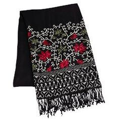 nice scarf embroidery design