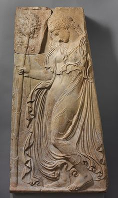Relief of a dancing maenad [Roman copy of a Greek relief attributed to Kallimachos] (35.11.3) | Heilbrunn Timeline of Art History | The Metr...