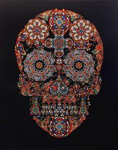 Skulls Artwork by Ja