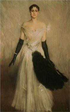 Portrait of a Lady  - Giovanni Boldini