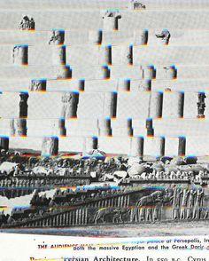 Doric Columns (Darkroom Manual), 2014, by Sara Cwynar