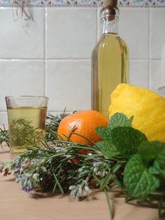 licor de ervas aromáticas