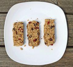 Homemade Chocolate Cranberry Granola Bars | 5DollarDinners.com #healthysnacks