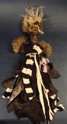 Real handmade voodoo dolls for many purposes.