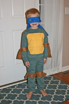 Teenage Mutant Ninja Turtle Costume by CuteandComfyCostumes, $50.00