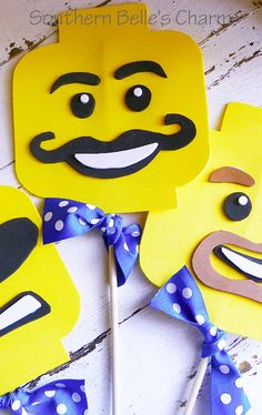 Lego Party Masks