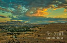 Sunrise Over Emmett Valley:  See more images at http://robert-bales.artistwebsites.com/