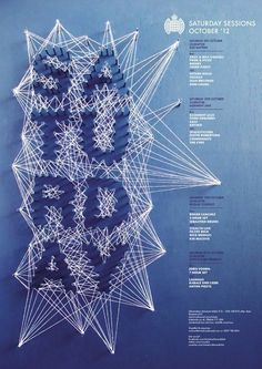 Typography / Ministry of Sound type
