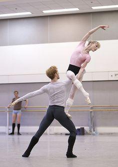 Sarah Lamb & Steven McRae.  The Royal Ballet in Trespass, Metamorphosis: Titian 2012. © ROH 2012. by -Royal Opera House Covent Garden