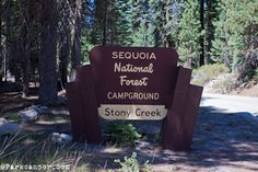 Best camp ground in Sequoia National park! our favorite camping place so many memories! i still remember the fire we almost caused!!!!!!!!!
