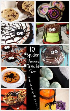 10 Spider- Themed treats for Halloween parties