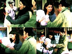laurengrahamm:  LORELAI: Look at her long fingers. LUKE: Yeah, I noticed that, too. LORELAI: What are you gonna be — a pianist when you grow up? Is that  what you're gonna be, pretty girl? Or a pickpocket. Well, yes, you  might. You might be a pickpocketing pianist. LORELAI: Pretty. LUKE: She's trying to take my finger. (7.10, Merry Fistcuffs)