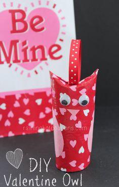DIY Valentine Owls