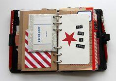 Besottment Filofax Art Journal