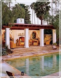 Spanish Colonial inspired.