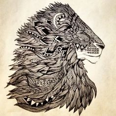 King and Lionheart by ArtistreeinMotion on Etsy, $20.00