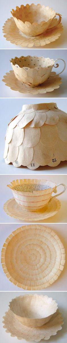 cecilia levy - paper teacups <3