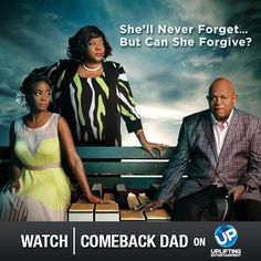 Tune in for the premiere of Comeback Dad tomorrow at 8pm ET!