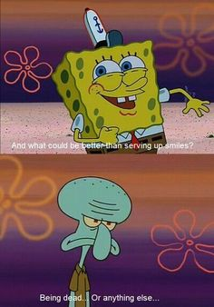 spongebob comedy is always the best! #spongebob #squidward #funny