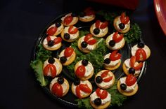 Appetizers at a Ladybug Party #ladybug #partyfood
