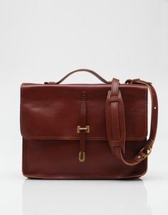 Schoolboy Satchel in Italian Latigo