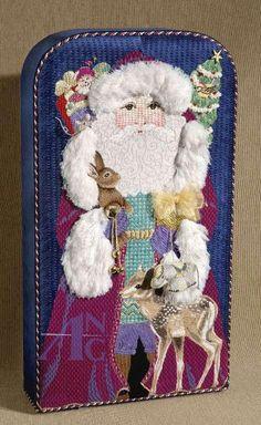 Love Santa's Collar and Sleeves!