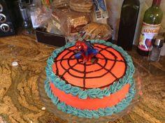 Spider-Man Cake! Celebrating Little Bros 3rd Birthday!!