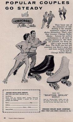 1959 ad for Chicago roller skates.