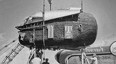 1955 ... 'atomic-powered' bomber