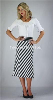 A Line Knit Skirt, mikarose, mikarose summer, mikarose summer 2013, pencil skirt, modest skirt, church skirt, lds, lds clothing, modest clot...