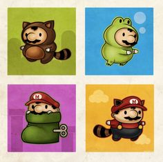Super Mario Brothers Artworks