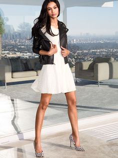 Leather Moto Jacket - Victoria's Secret (modeled by Chanel Iman)