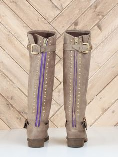 lynet boot, madden lynet, fall fashions, purple, front doors, steve madden, zipper, closet, fashion boots